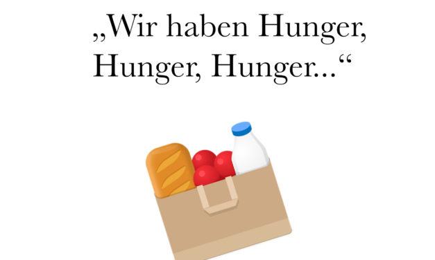 Damit wir nicht verhungern – unsere semi-gesunde Einkaufsliste