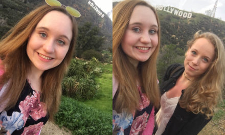 Hollywood sign mit Pia <3
